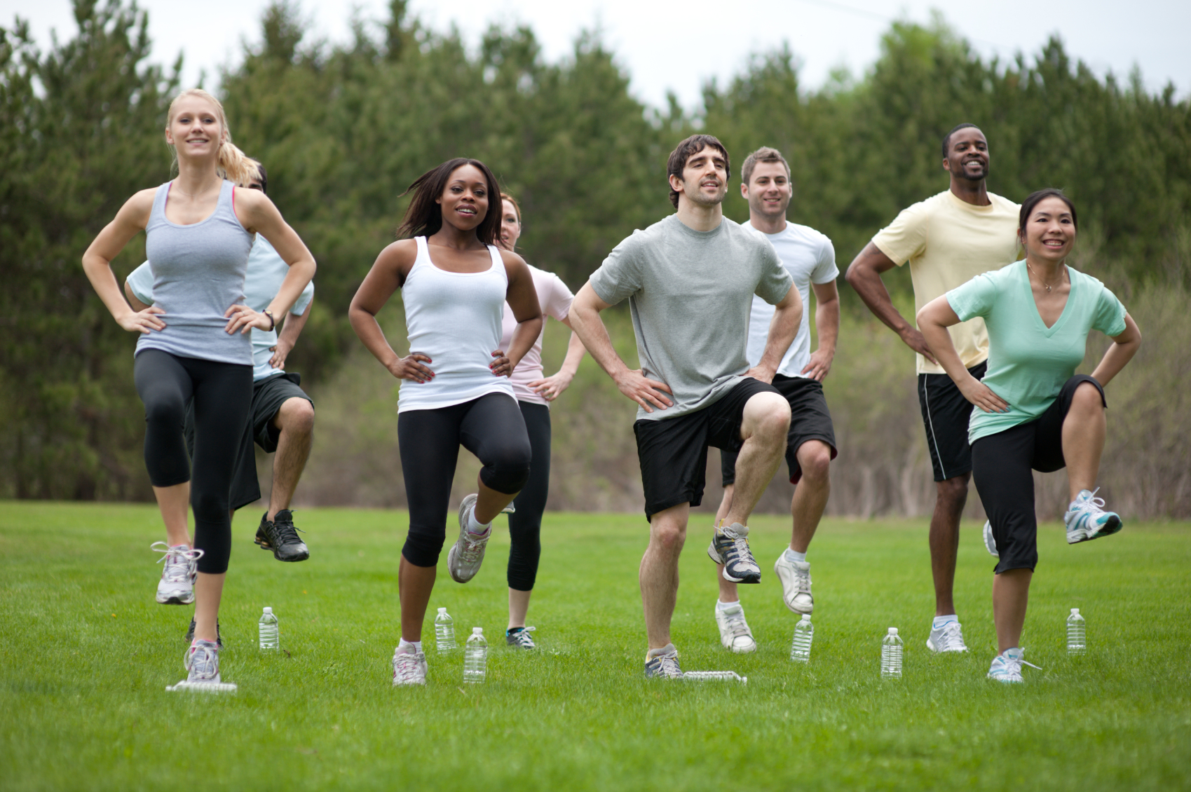 Cardio Strength Bootcamp In The Park